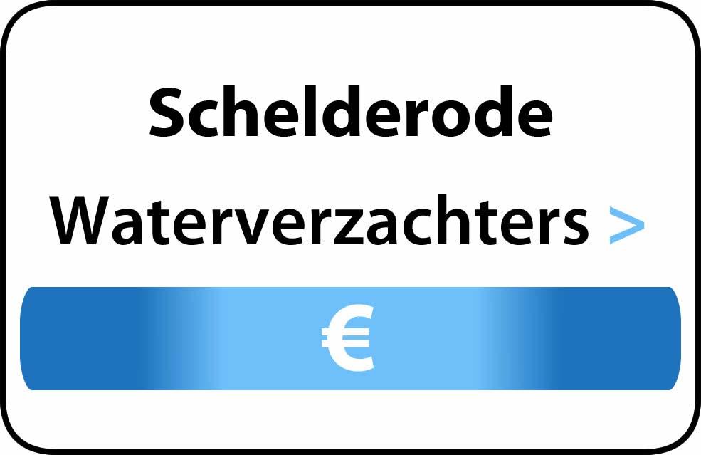 Waterverzachter in de buurt van Schelderode