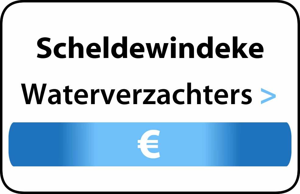 Waterverzachter in de buurt van Scheldewindeke