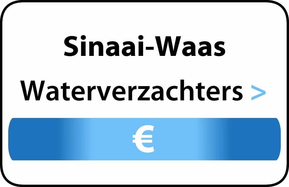 Waterverzachter in de buurt van Sinaai-Waas