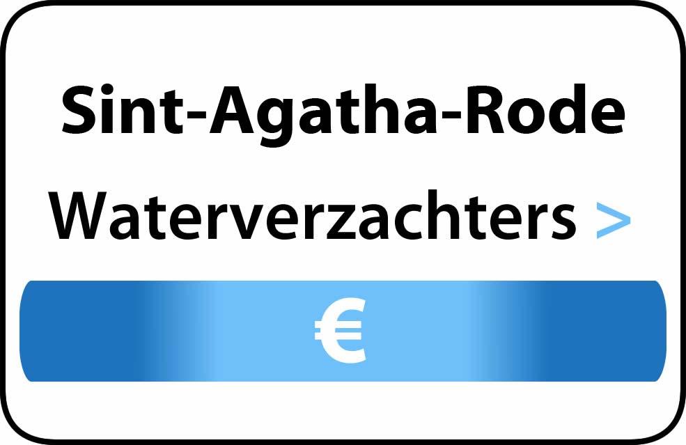 Waterverzachter in de buurt van Sint-Agatha-Rode