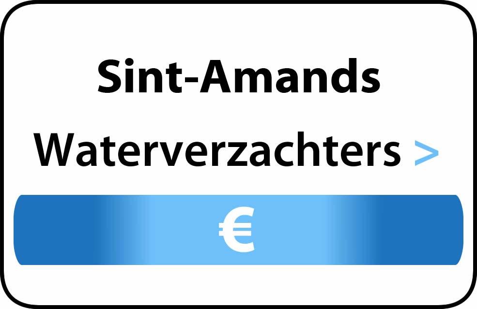 Waterverzachter in de buurt van Sint-Amands