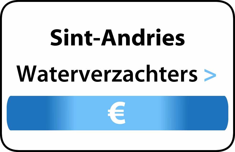 Waterverzachter in de buurt van Sint-Andries