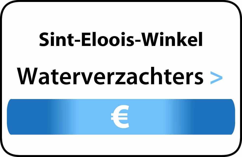 Waterverzachter in de buurt van Sint-Eloois-Winkel