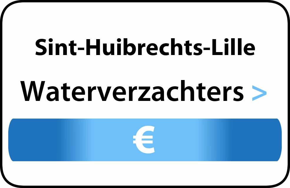 Waterverzachter in de buurt van Sint-Huibrechts-Lille