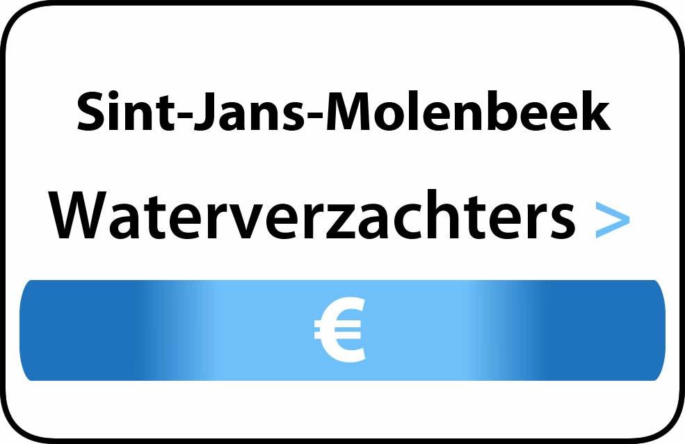 Waterverzachter in de buurt van Sint-Jans-Molenbeek