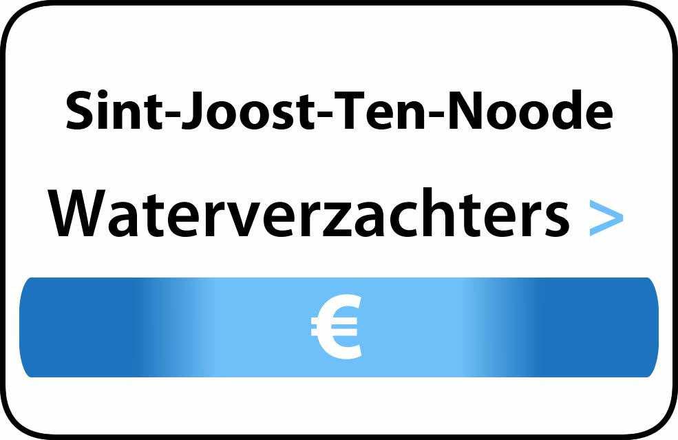 Waterverzachter in de buurt van Sint-Joost-Ten-Noode