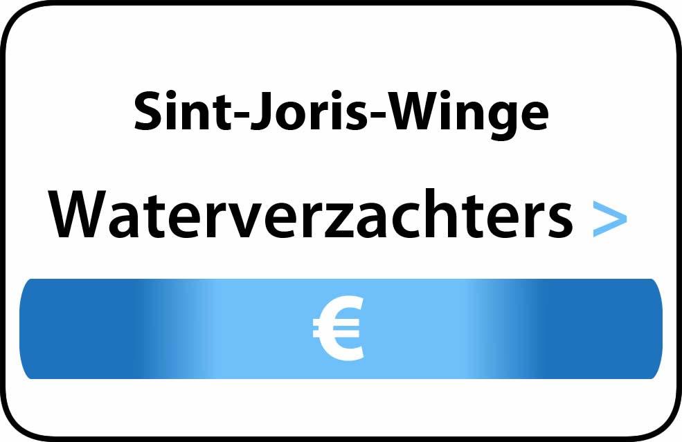 Waterverzachter in de buurt van Sint-Joris-Winge