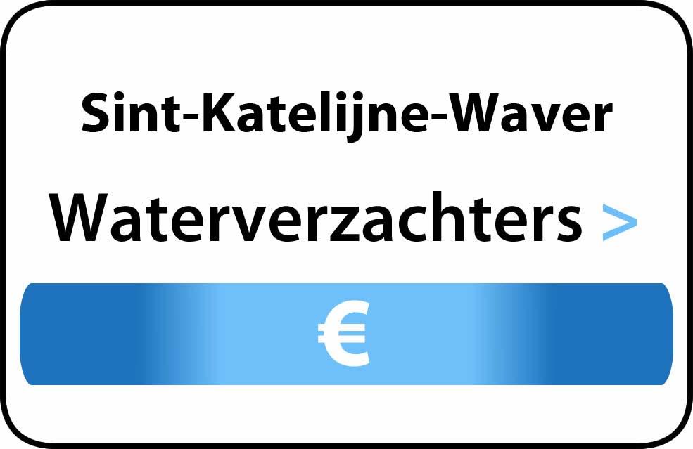Waterverzachter in de buurt van Sint-Katelijne-Waver