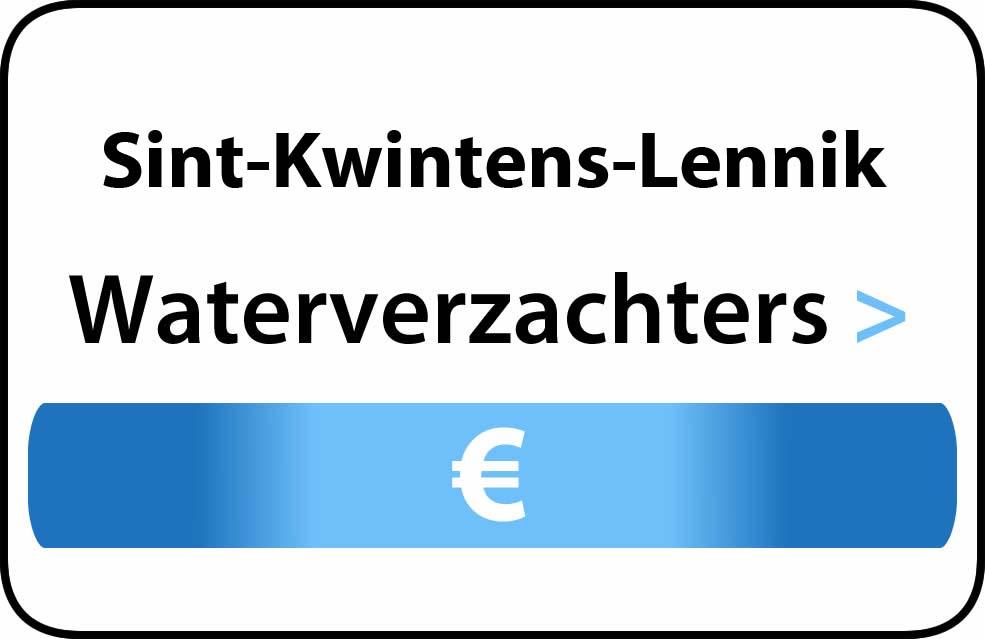 Waterverzachter in de buurt van Sint-Kwintens-Lennik