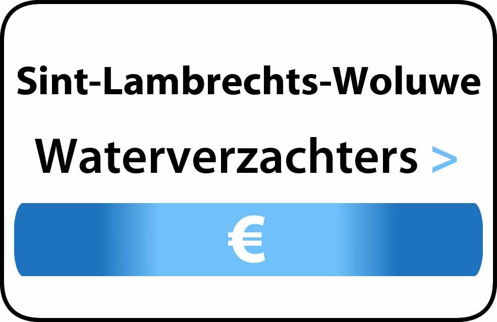 Waterverzachter in de buurt van Sint-Lambrechts-Woluwe
