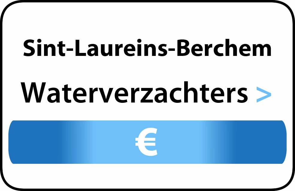 Waterverzachter in de buurt van Sint-Laureins-Berchem
