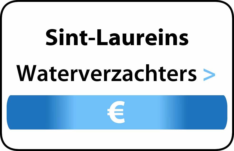 Waterverzachter in de buurt van Sint-Laureins