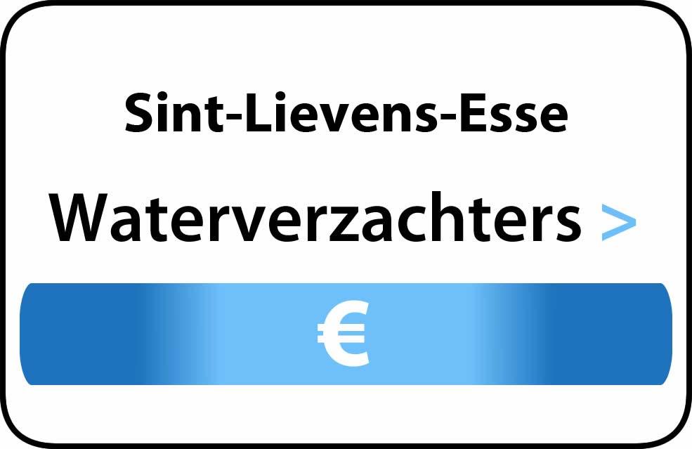 Waterverzachter in de buurt van Sint-Lievens-Esse