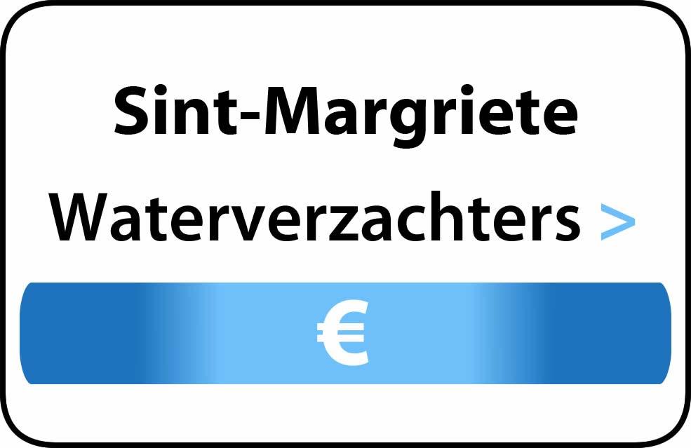 Waterverzachter in de buurt van Sint-Margriete