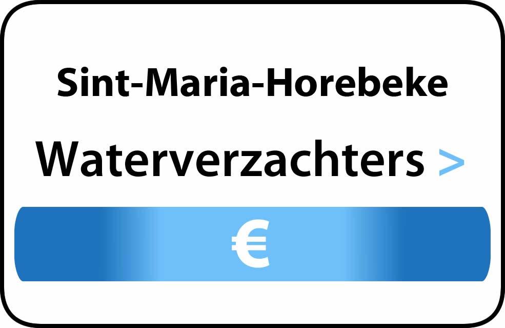 Waterverzachter in de buurt van Sint-Maria-Horebeke