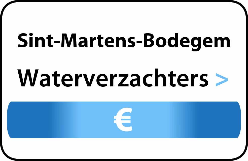 Waterverzachter in de buurt van Sint-Martens-Bodegem