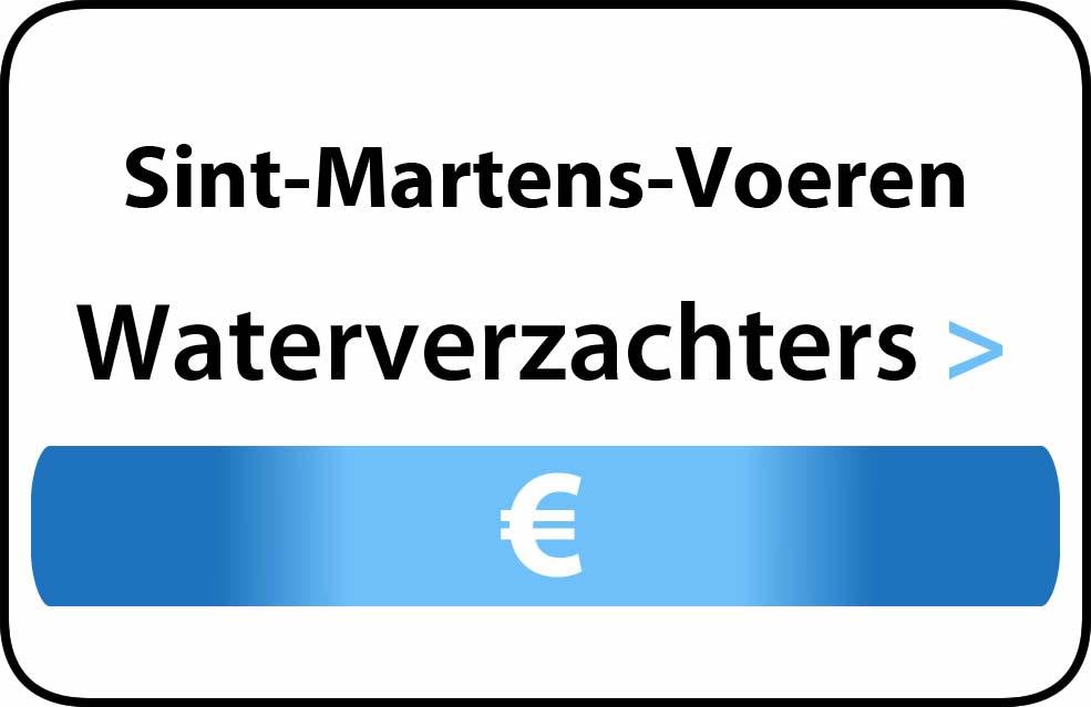 Waterverzachter in de buurt van Sint-Martens-Voeren