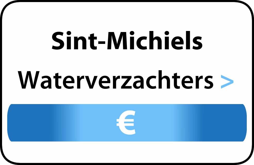 Waterverzachter in de buurt van Sint-Michiels