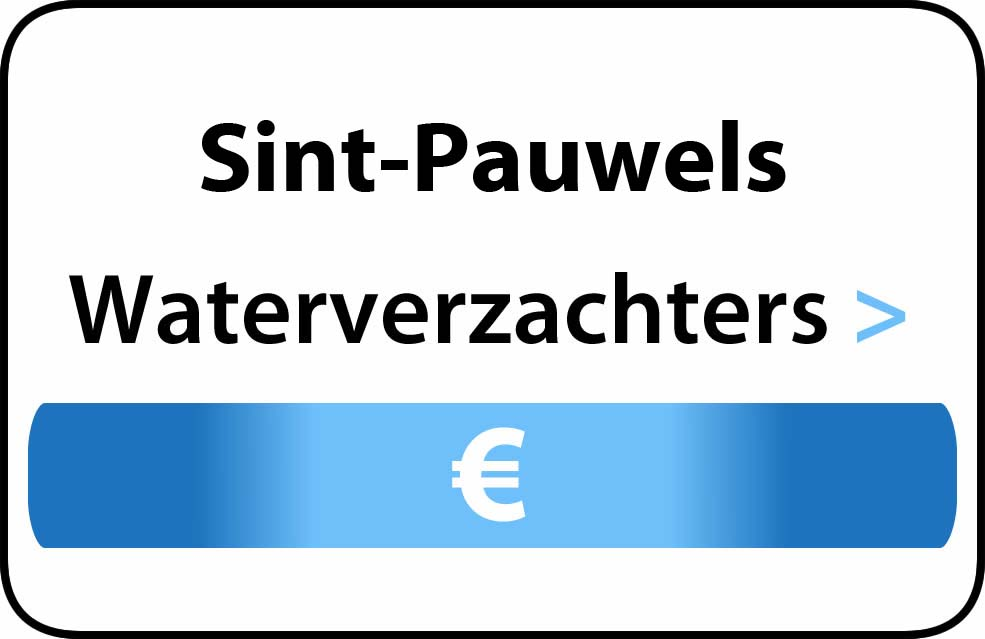 Waterverzachter in de buurt van Sint-Pauwels