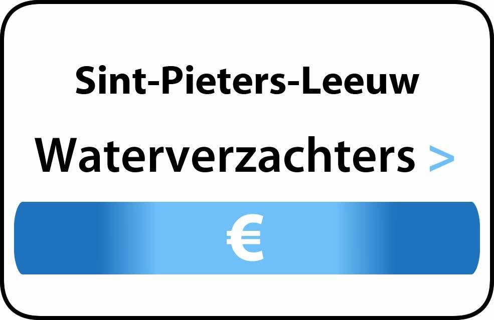 Waterverzachter in de buurt van Sint-Pieters-Leeuw