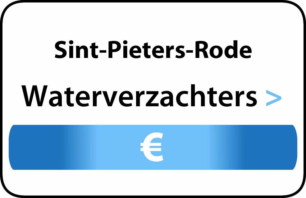 Waterverzachter in de buurt van Sint-Pieters-Rode