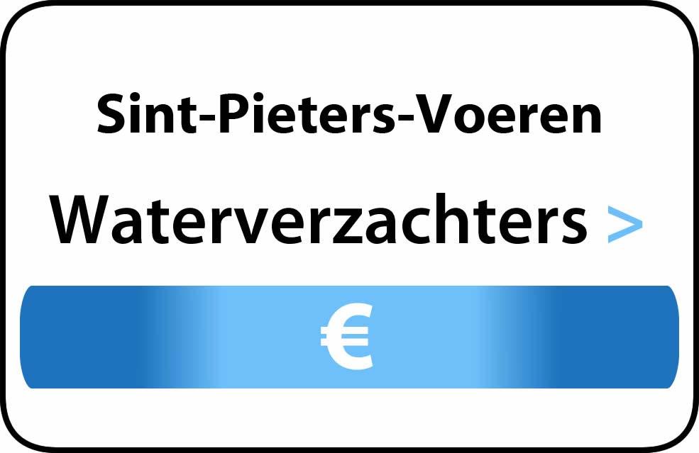 Waterverzachter in de buurt van Sint-Pieters-Voeren
