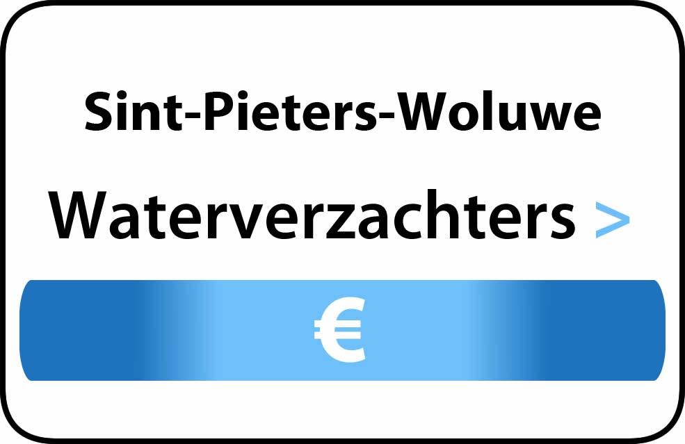 Waterverzachter in de buurt van Sint-Pieters-Woluwe