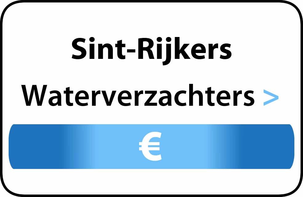 Waterverzachter in de buurt van Sint-Rijkers