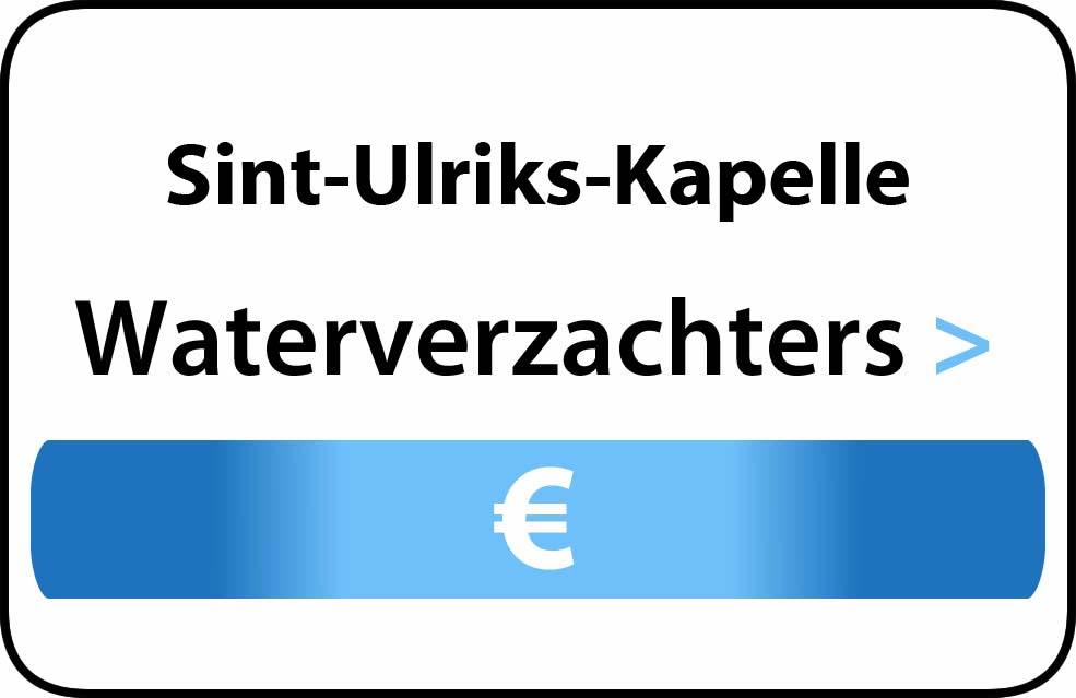 Waterverzachter in de buurt van Sint-Ulriks-Kapelle