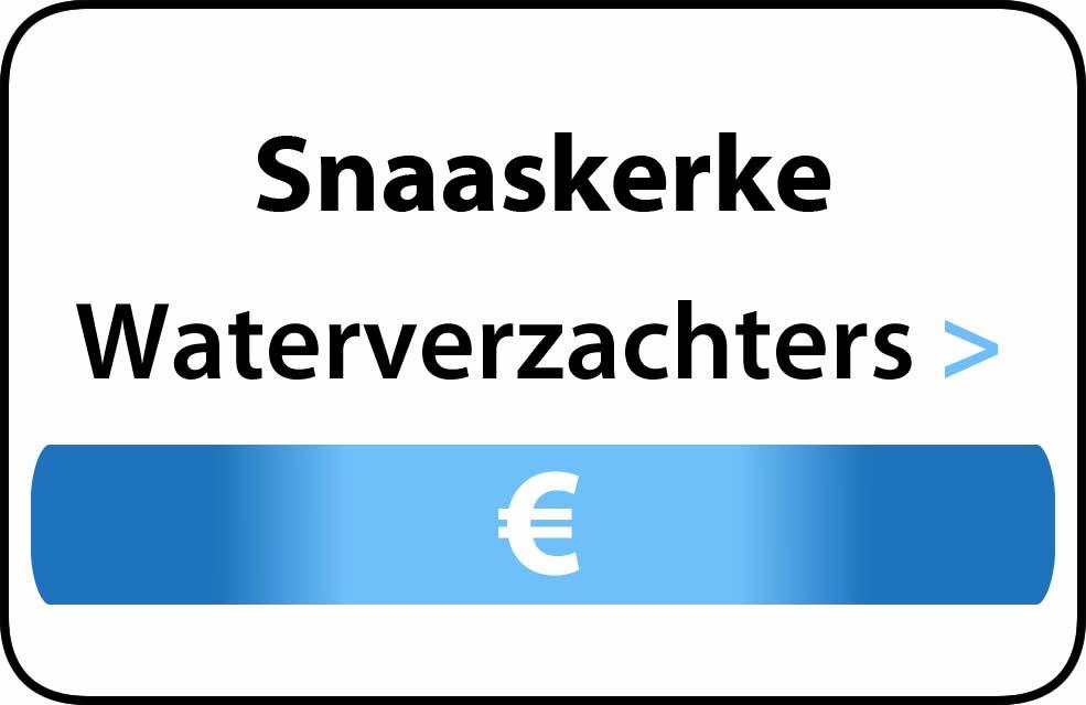 Waterverzachter in de buurt van Snaaskerke
