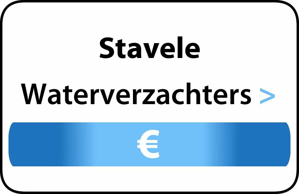 Waterverzachter in de buurt van Stavele