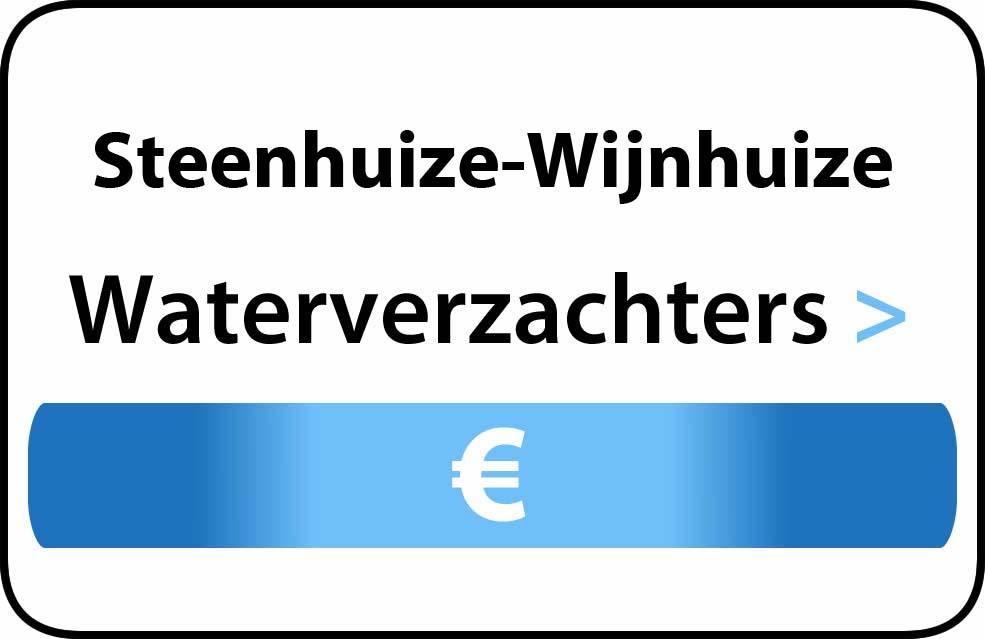 Waterverzachter in de buurt van Steenhuize-Wijnhuize