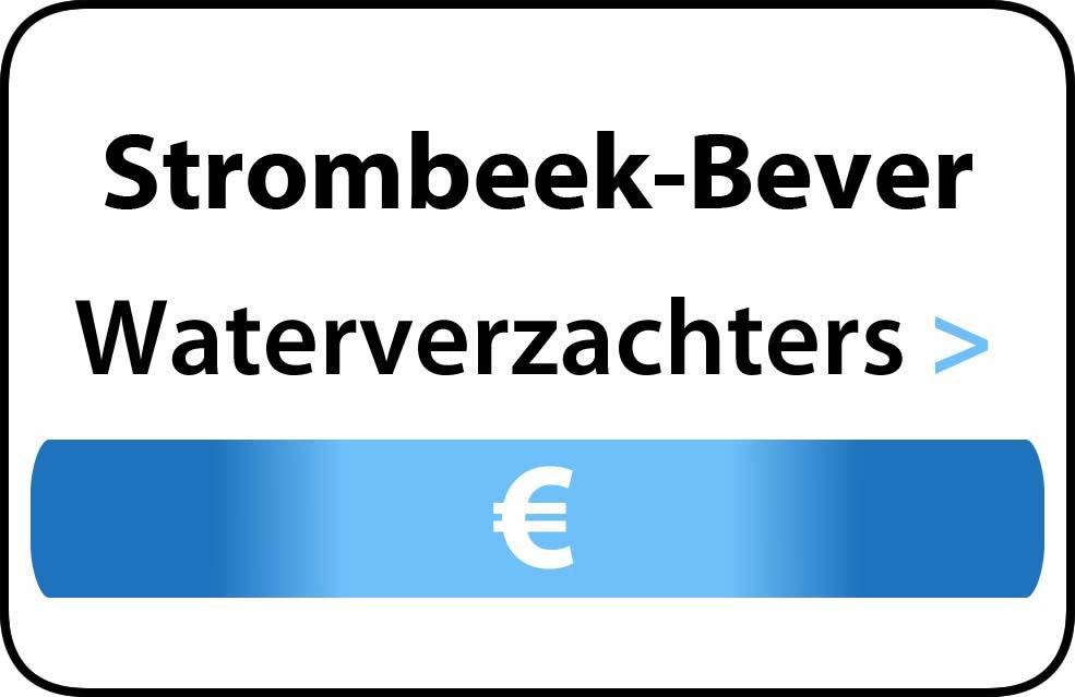 Waterverzachter in de buurt van Strombeek-Bever