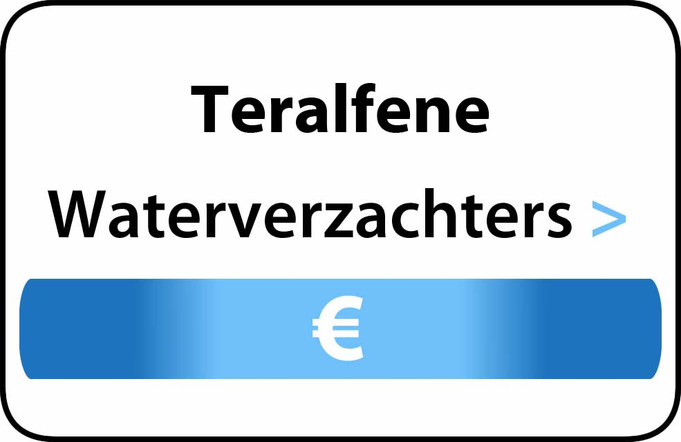 Waterverzachter in de buurt van Teralfene