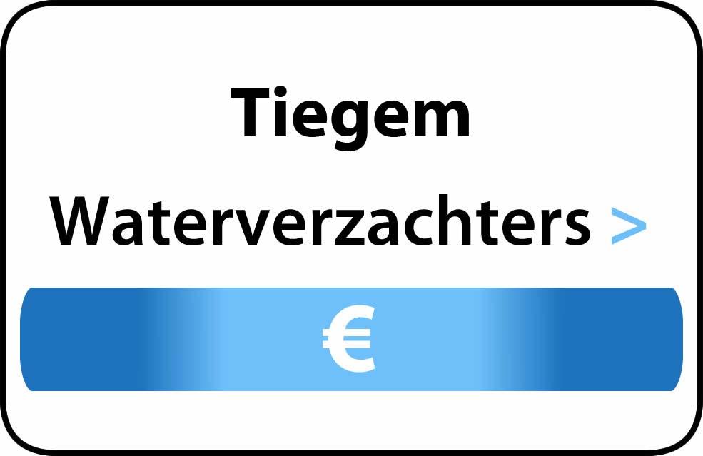 Waterverzachter in de buurt van Tiegem