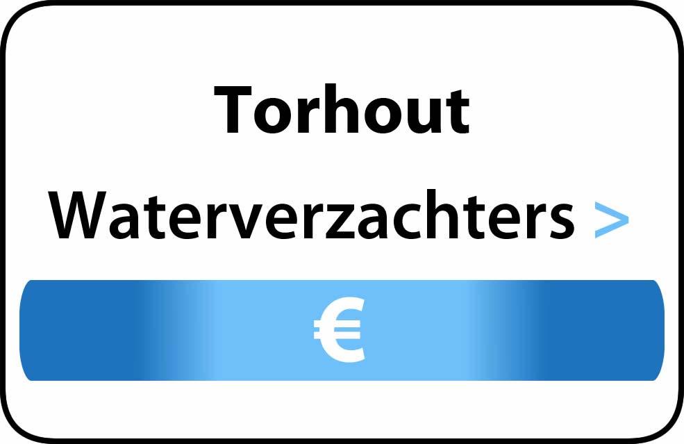 Waterverzachter in de buurt van Torhout