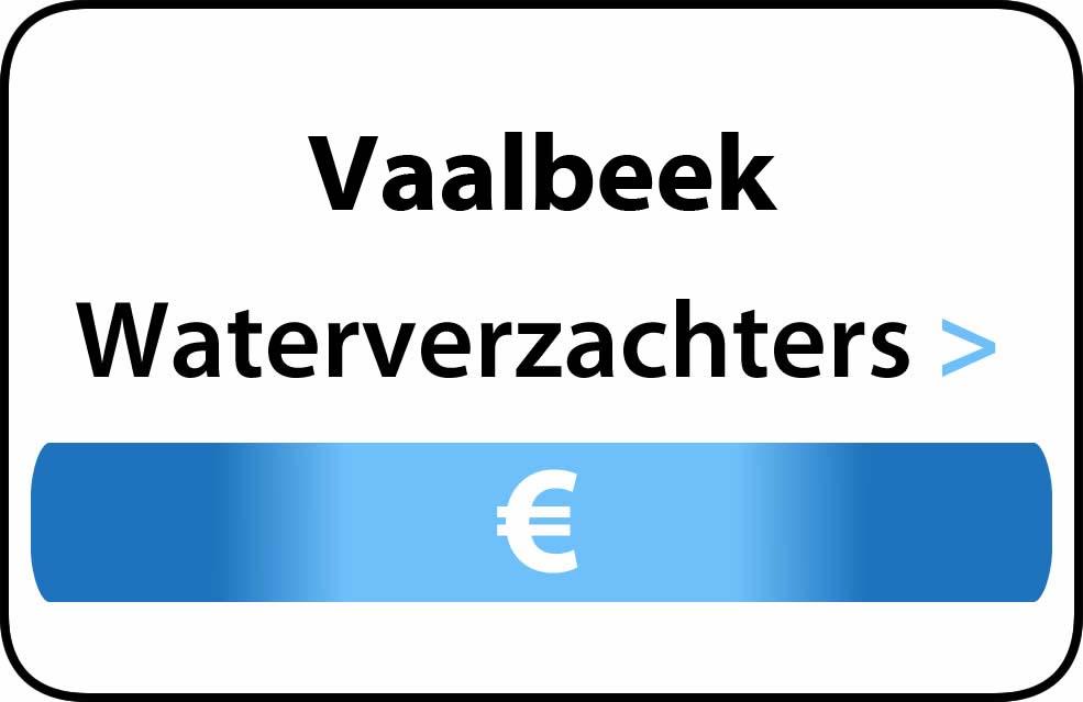 Waterverzachter in de buurt van Vaalbeek