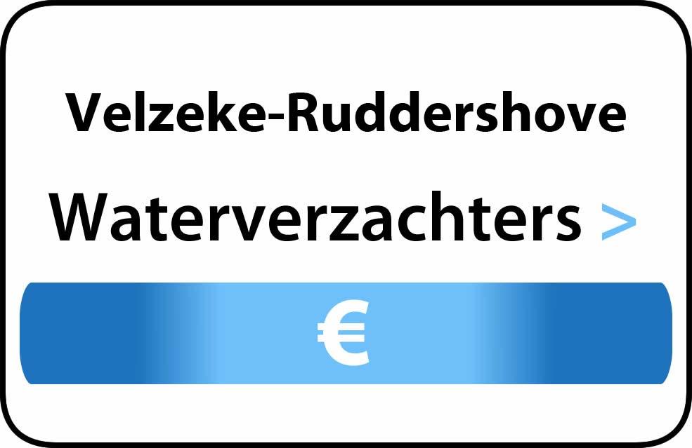 Waterverzachter in de buurt van Velzeke-Ruddershove