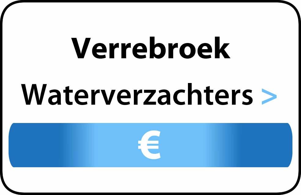 Waterverzachter in de buurt van Verrebroek