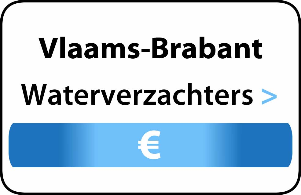 Waterverzachter in Vlaams-Brabant