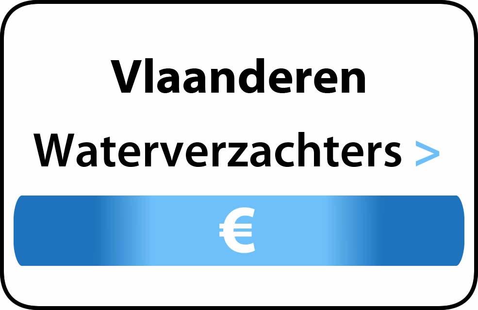 Waterverzachter in de buurt van Vlaanderen