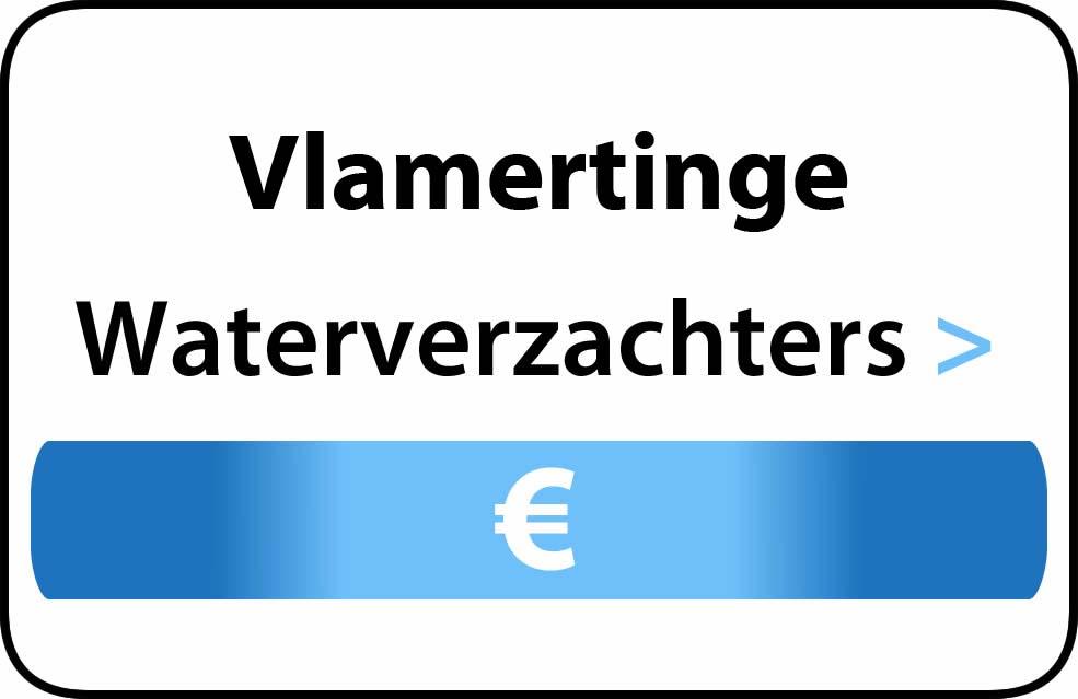 Waterverzachter in de buurt van Vlamertinge