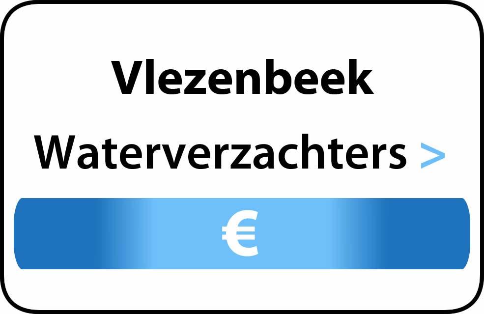 Waterverzachter in de buurt van Vlezenbeek