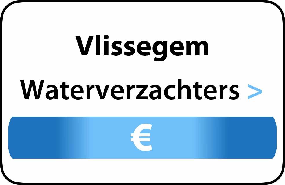 Waterverzachter in de buurt van Vlissegem