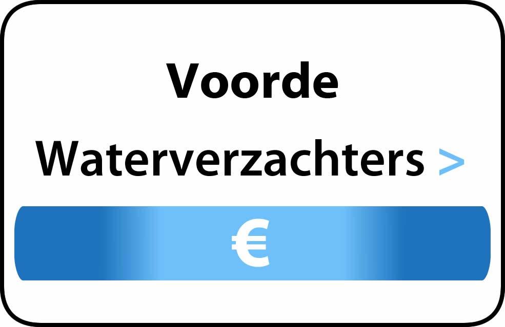 Waterverzachter in de buurt van Voorde