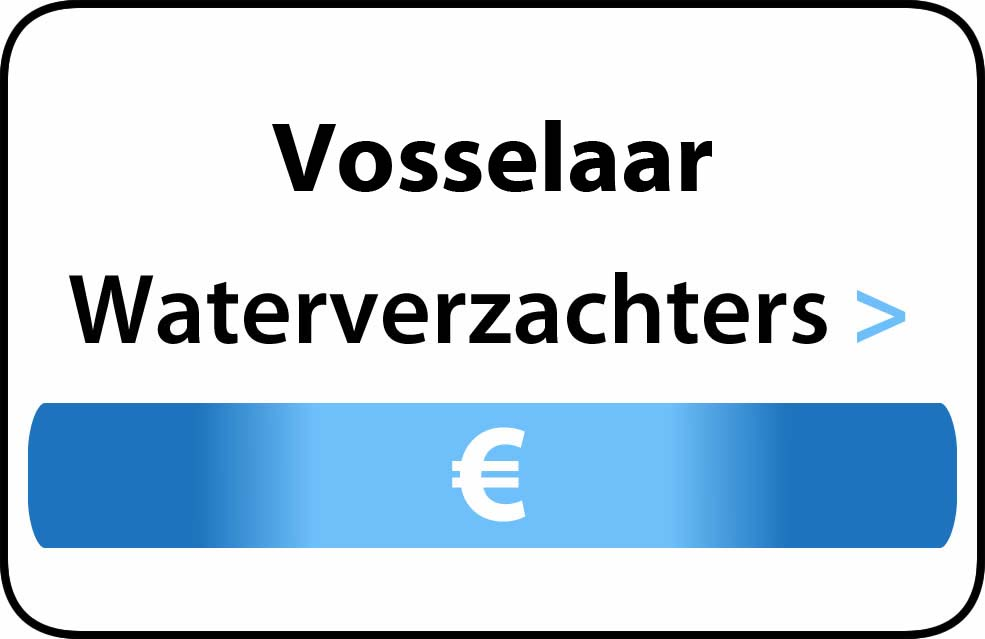 Waterverzachter in de buurt van Vosselaar