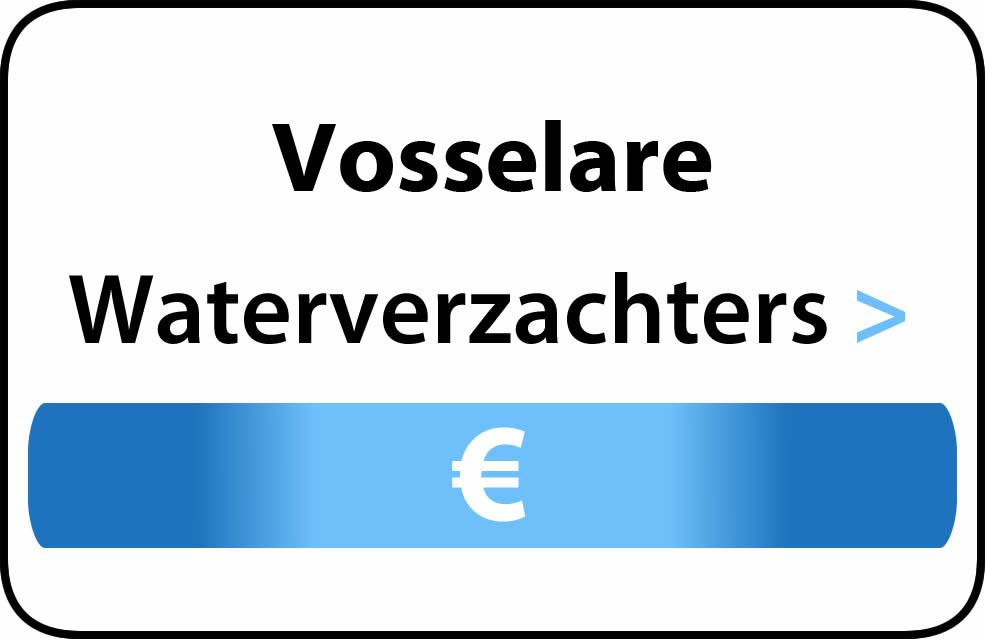 Waterverzachter in de buurt van Vosselare