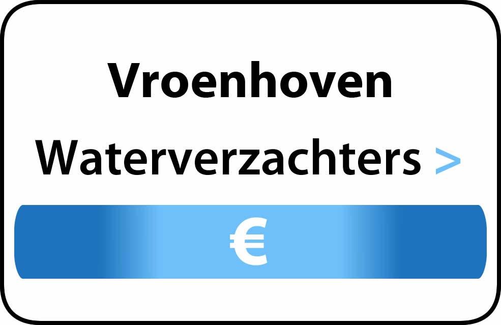 Waterverzachter in de buurt van Vroenhoven
