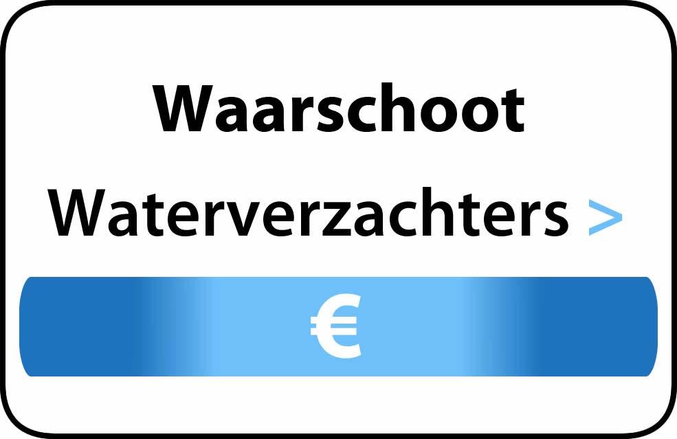 Waterverzachter in de buurt van Waarschoot