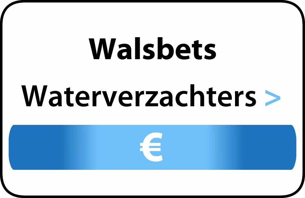Waterverzachter in de buurt van Walsbets